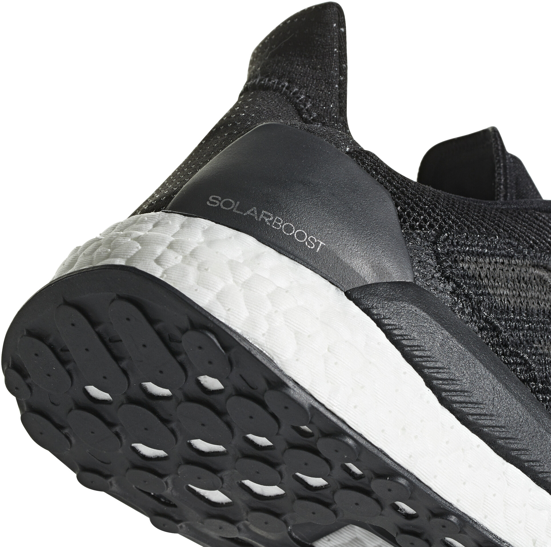 buy online b88aa eceac adidas SolarBoost Löparskor Herr svart